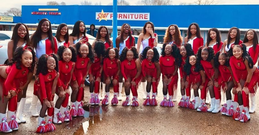 Dancing Dolls of Jackson, MS at 2019 Jackson MLK Parade (Late Post)