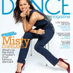 D.I.V.A.: Misty Copeland covers May 2016 Dance Magazine