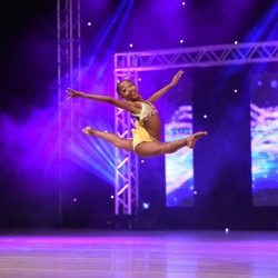 "Athena Andrade of Rising Stars Dance Academy performs ""Smile"" at KAR Dance Competition"