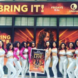Watch: Lifetime Tv Bring It! Stars Paying Homage to African American Sororities
