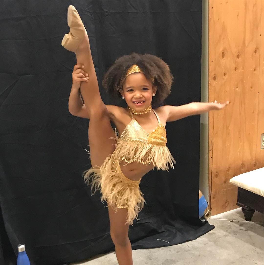 "7-year-old Jazz Dancer Pay Homage to Legendary Tina Turner's ""Proud Mary"""