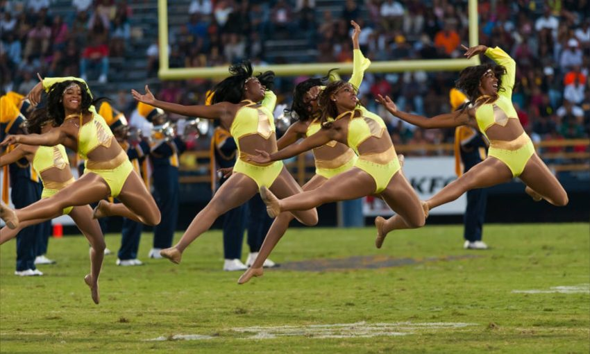 "Contrast: North Carolina A&T Golden Delight Performing ""Velvet Rope"" (2008, 2012, 2014)"