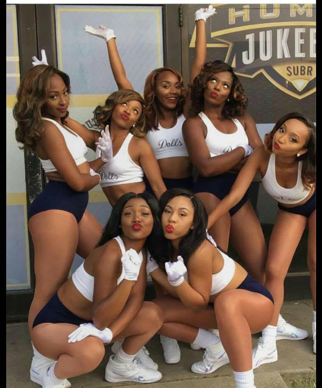 Southern University Dancing Dolls 1st performance Of 2017-2018 Season