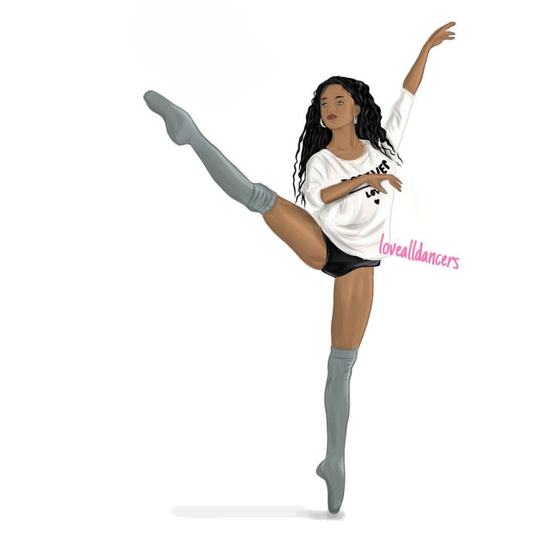 "Amazing Dance Drawings Found On Instagram Profile ""LoveAllDancers"""