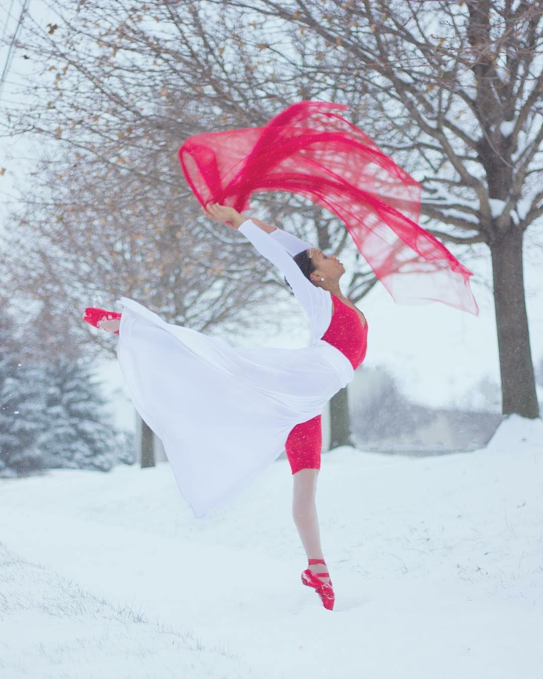 Watch: Spiritual Ballerina Chantal Ashante Hill Inspirational Performance