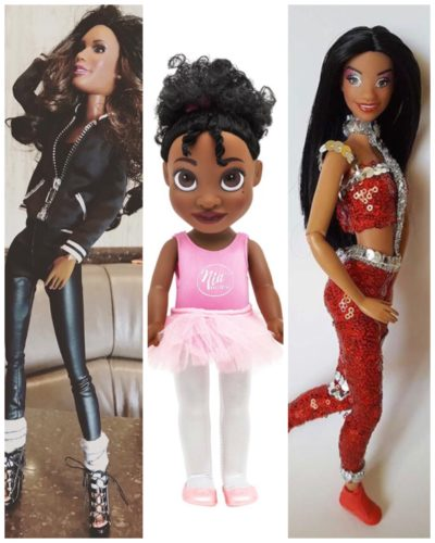 Gift Your Pretty Brown Dancer these beautiful Dancing Dolls For Christmas