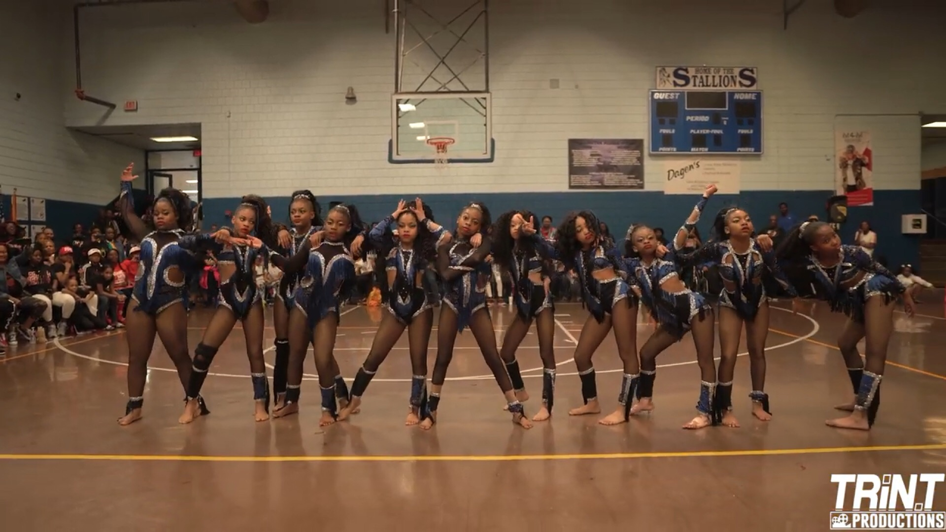 Showdown: Three Junior Majorette Teams Demonstrate A Real Dance Battle